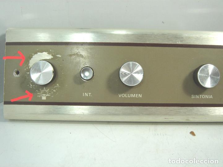 Radios de galena: RADIO VINTAGE PARA EMPOTRAR - HNOS RIPOLLES VINAROZ - CABEZAL CAMA - AÑOS 70 - Foto 2 - 78213521