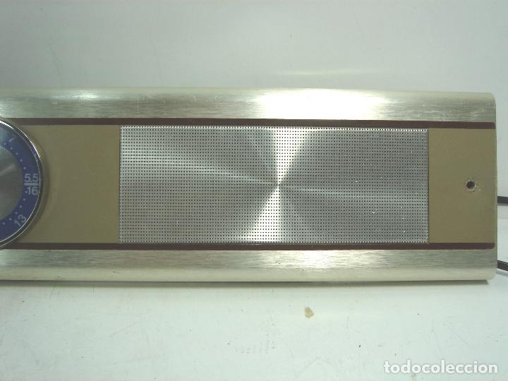 Radios de galena: RADIO VINTAGE PARA EMPOTRAR - HNOS RIPOLLES VINAROZ - CABEZAL CAMA - AÑOS 70 - Foto 3 - 78213521