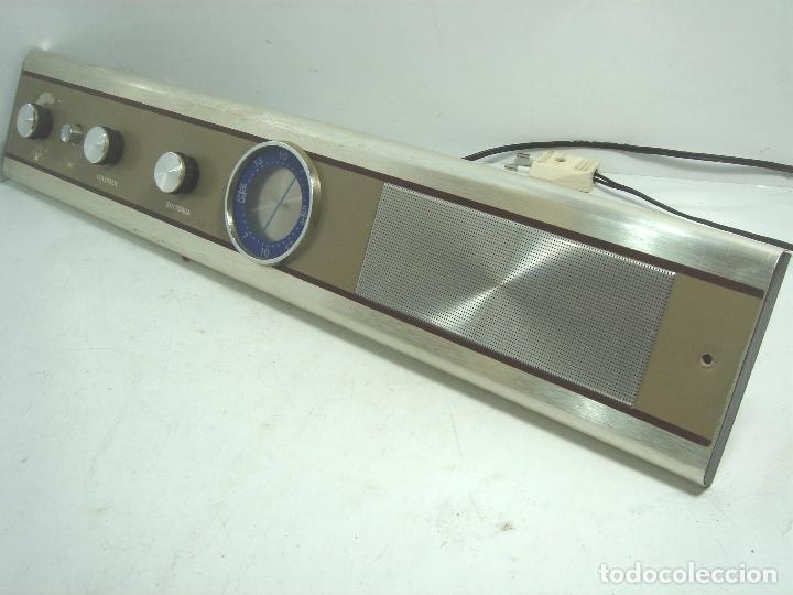 Radios de galena: RADIO VINTAGE PARA EMPOTRAR - HNOS RIPOLLES VINAROZ - CABEZAL CAMA - AÑOS 70 - Foto 5 - 78213521