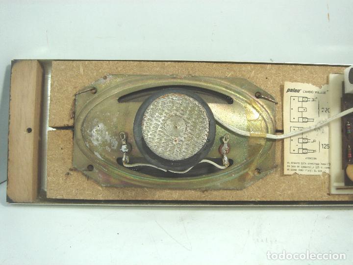 Radios de galena: RADIO VINTAGE PARA EMPOTRAR - HNOS RIPOLLES VINAROZ - CABEZAL CAMA - AÑOS 70 - Foto 7 - 78213521