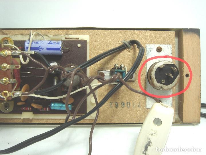 Radios de galena: RADIO VINTAGE PARA EMPOTRAR - HNOS RIPOLLES VINAROZ - CABEZAL CAMA - AÑOS 70 - Foto 9 - 78213521