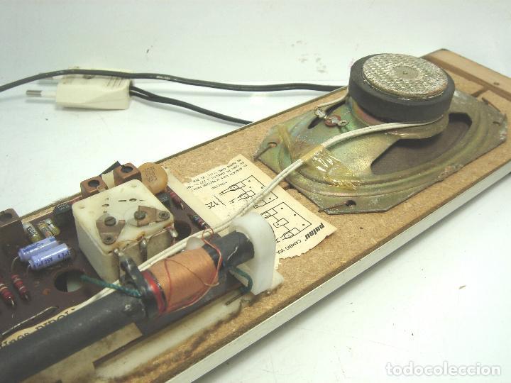 Radios de galena: RADIO VINTAGE PARA EMPOTRAR - HNOS RIPOLLES VINAROZ - CABEZAL CAMA - AÑOS 70 - Foto 11 - 78213521