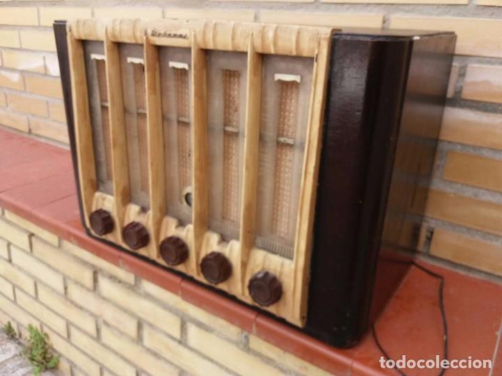 RADIO ANTIGUA MARCONI (Radios, Gramófonos, Grabadoras y Otros - Radios de Galena)