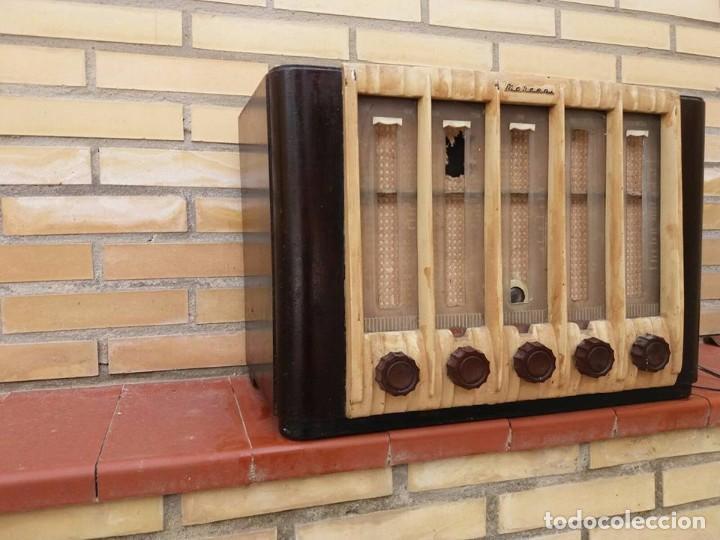 Radios de galena: radio antigua marconi - Foto 6 - 84536196