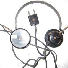 Radios de galena: AURICULARES GALENA ANTIGUOS FUNCIONANDO TESTADOS. Lote 85529236