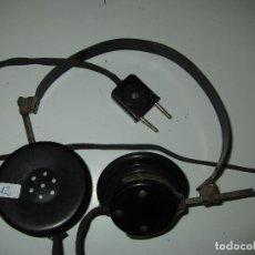 Radios de galena: AURICULARES GALENA ANTIGUOS FUNCIONANDO TESTADOS. Lote 85530236