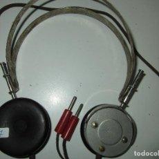 Radios de galena: AURICULARES GALENA ANTIGUOS FUNCIONANDO TESTADOS. Lote 85531284