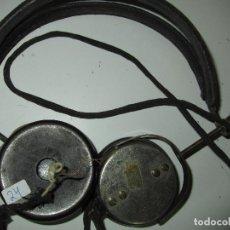 Radios de galena: AURICULARES GALENA ANTIGUOS FUNCIONANDO TESTADOS. Lote 85534108