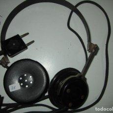Radios de galena: AURICULARES GALENA ANTIGUOS FUNCIONANDO TESTADOS. Lote 85535544