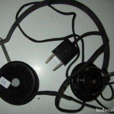 Radios de galena: AURICULARES GALENA ANTIGUOS FUNCIONANDO TESTADOS. Lote 85536556