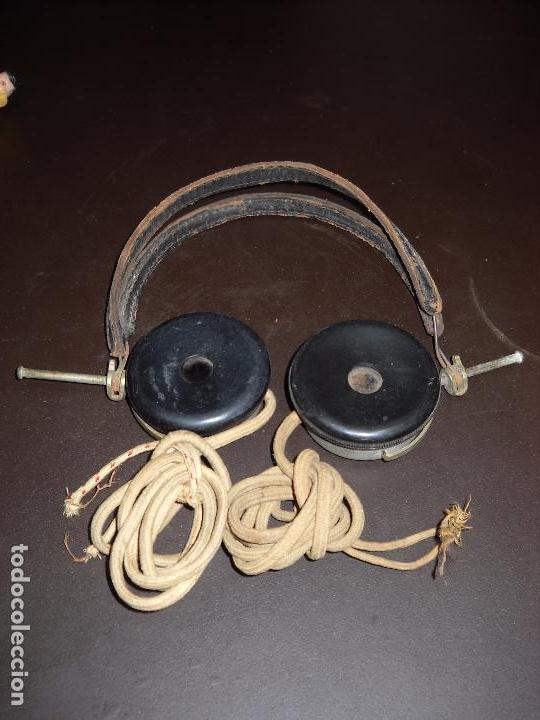 AURICULARES PARA RADIO DE GALENA,MARQUE ANDRE FALCO. (Radios, Gramófonos, Grabadoras y Otros - Radios de Galena)