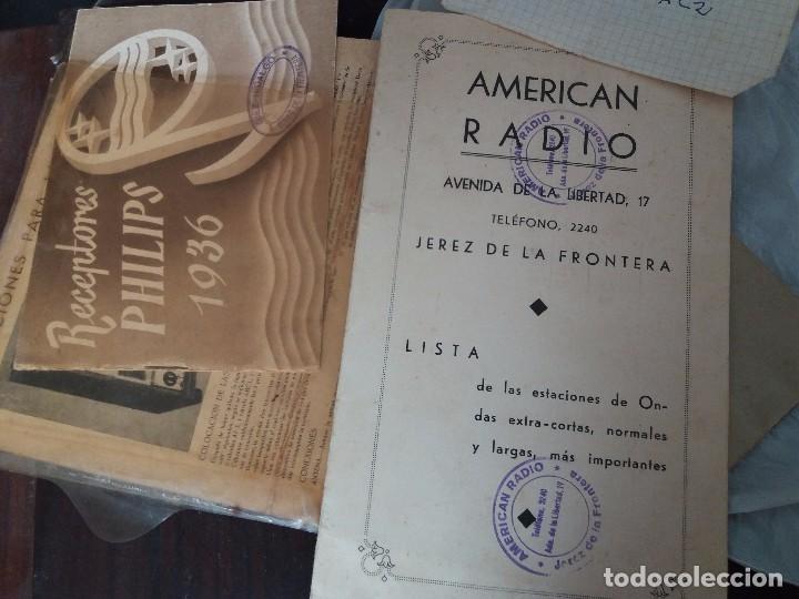 Radios de galena: radio antigua con tocadiscos - Foto 7 - 87672580