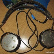 Radios de galena: AURICULARES GALENA ANTIGUOS FUNCIONANDO TESTADOS NEUFELDT & KUHNKE KIEL 20000 OHMS. Lote 91608985