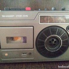 Radios de galena: RADIO CASSETTE SHARP DYNAMIC SOUND. Lote 97765751