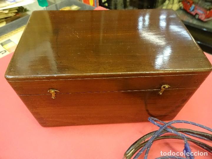 Radios de galena: Preciosa RADIO DE GALENA en caja de madera y con auriculares. Magnífica conservación - Foto 4 - 99710943