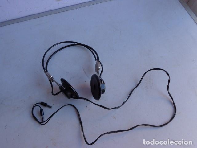 MUY ANTIGUO (PRINCIPIOS 1900 ) RARO Y BONITO AURICULAR BAQUELITA, COMPLETO Y MUY BUEN ESTADO (Radios, Gramófonos, Grabadoras y Otros - Radios de Galena)