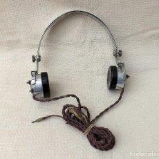 Radios de galena: ANTIGUOS AURICULARES DE RADIO GALENA, STERLING LONDON. Lote 118906862