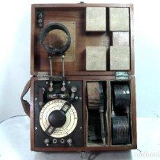 Radios de galena: ¡¡DE MUSEO¡¡ ANTIGUO ONDAMETRO M.G.I.E TELMAR -TALLERES ELECTROMECANICOS MARCONI AÑOS 20 - WAVEMETER. Lote 128932187