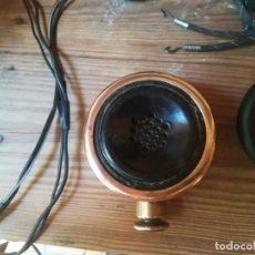 Radios de galena: ESPECIAL AURICULAR, ALTA IMPEDANCIA, EN RECEPTÁCULO DE BRONCE. Lote 131151344