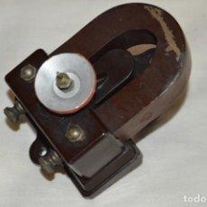 Radios de galena: VINTAGE - ANTIGUO MOTOR DE ALTAVOZ ANTIGUO - ORMOND CO LTD - BAQUELITA - PRINCIPIOS 1900 - ENVÍO 24H. Lote 132552418