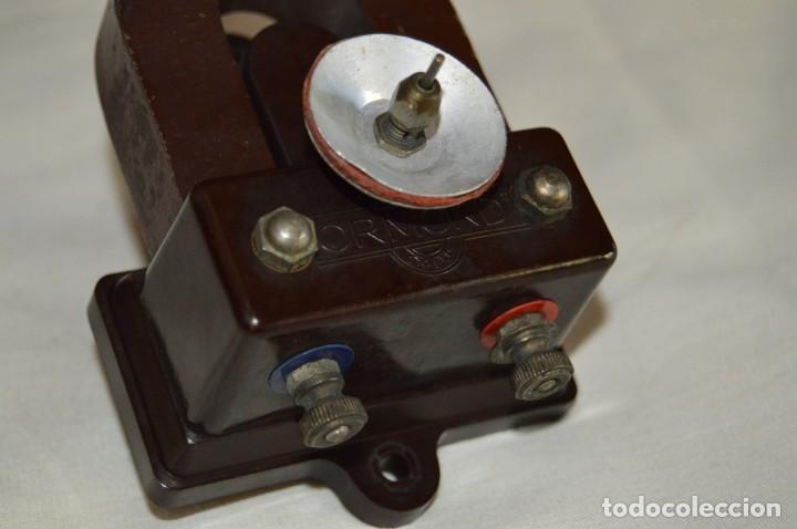 Radios de galena: VINTAGE - ANTIGUO MOTOR DE ALTAVOZ ANTIGUO - ORMOND CO LTD - BAQUELITA - PRINCIPIOS 1900 - ENVÍO 24H - Foto 2 - 132552418