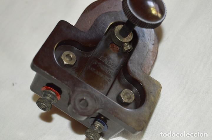 Radios de galena: VINTAGE - ANTIGUO MOTOR DE ALTAVOZ ANTIGUO - ORMOND CO LTD - BAQUELITA - PRINCIPIOS 1900 - ENVÍO 24H - Foto 6 - 132552418