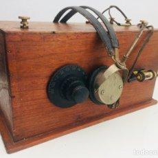 Radios de galena: RADIO DE GALENA. Lote 133704739