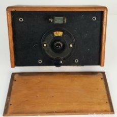 Radios de galena: RADIO DE GALENA. CAJA DE MADERA. DIAL DE BAQUELITA. PRINCIPIOS SIGLO XX. . Lote 150753346