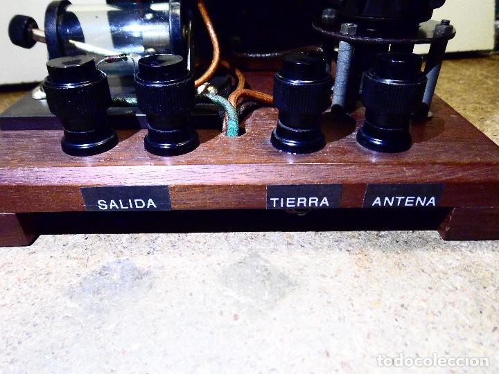 Radios de galena: Radio de Galena años 20 ver video - Foto 3 - 142381878