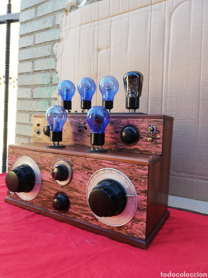 IMPRESIONANTE Y RARA RADIO DE VÁLVULAS ANTIGUA DE GALENA (Radios, Grammophone, Rekorder und anderes - Detektorempfänger)
