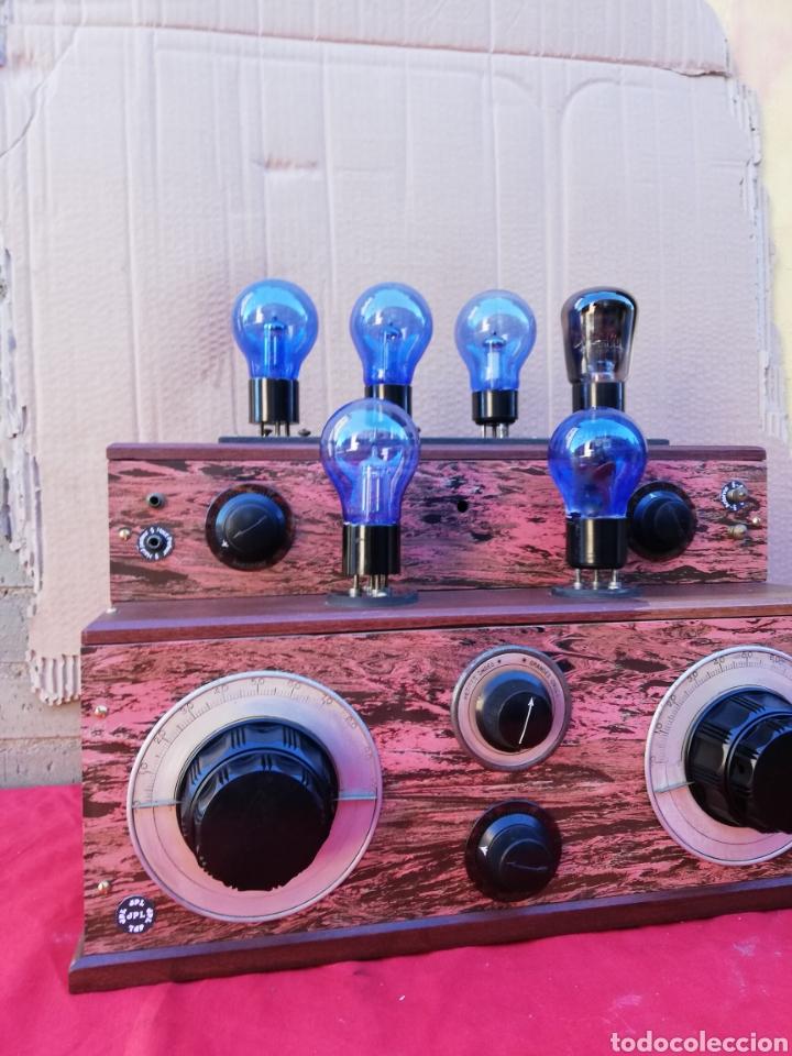 Detektorempfänger: Impresionante y rara radio de válvulas antigua de galena - Foto 2 - 151110436