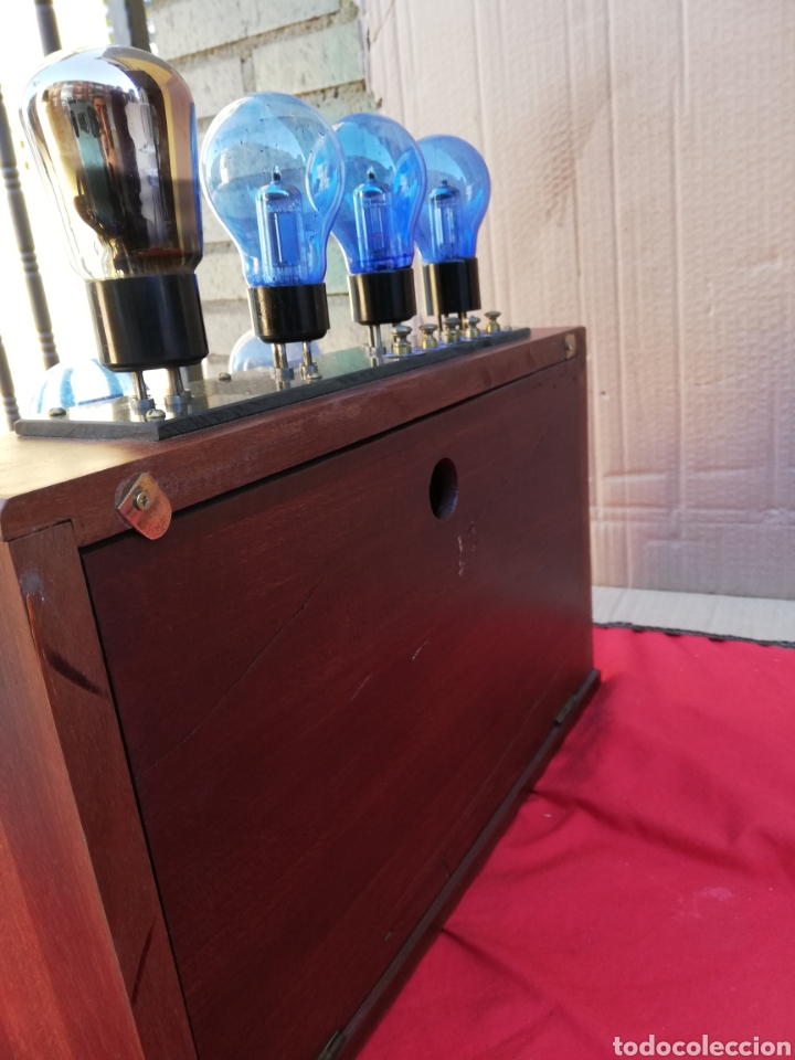 Detektorempfänger: Impresionante y rara radio de válvulas antigua de galena - Foto 4 - 151110436