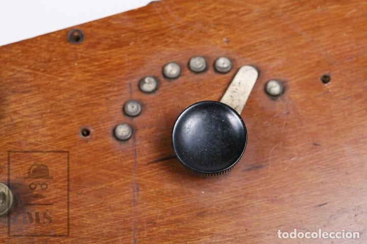 Radios de galena: Antigua Radio de Galena con Caja de Madera - Marcada Record - Años 40-50 - Foto 6 - 156475434