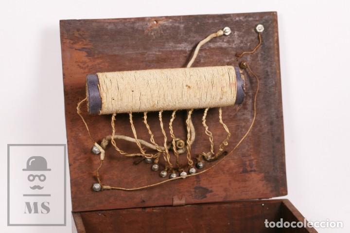 Radios de galena: Antigua Radio de Galena con Caja de Madera - Marcada Record - Años 40-50 - Foto 7 - 156475434