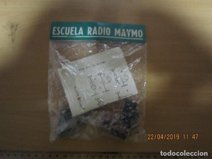 KIT RADIO GALENA ESCUELA RADIO MAYMO (Radios, Gramófonos, Grabadoras y Otros - Radios de Galena)