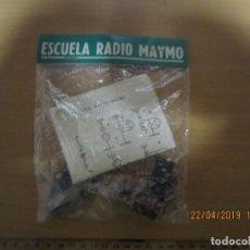 Radios de galena - KIT RADIO GALENA ESCUELA RADIO MAYMO - 160791290