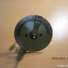 Radios de galena: CONDENSADOR VARIABLE CON DES MULTIPLICADOR.. Lote 160799782