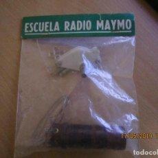 Radios de galena: ESCUELA RADIO MAYMO KIT MONTAJE RADIO GALENA. Lote 164703462