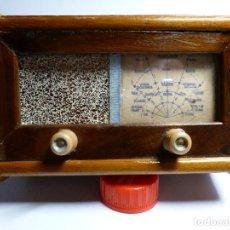 Radios de galena: CAJA DE MADERA DE ANTIGUA RADIO DE GERMANIO. Lote 169199572