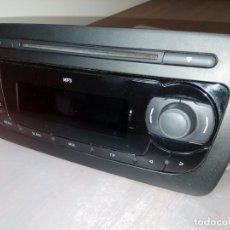 Radios de galena: RADIO-CD-SEAT-IBIZA-6J-ANO-2010 SISTEMA-AUDIO. Lote 170424020