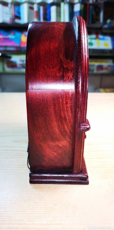 Radios de galena: Antigua radio de madera. Funciona perfectamente de alta calidad - Foto 3 - 235641190