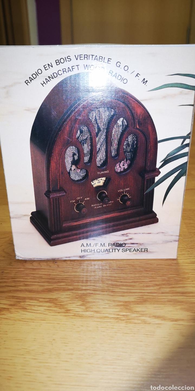 Radios de galena: Antigua radio de madera. Funciona perfectamente de alta calidad - Foto 4 - 235641190