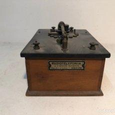 Radios de galena: RADIO DE GALENA, RADIOTELEFONIA J. ESTEVA MARATA, BARCELONA.. Lote 183918221