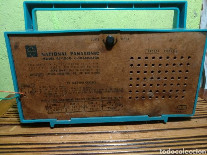 Radios de galena: Radio panasonik años 70 foncciona - Foto 4 - 184539602