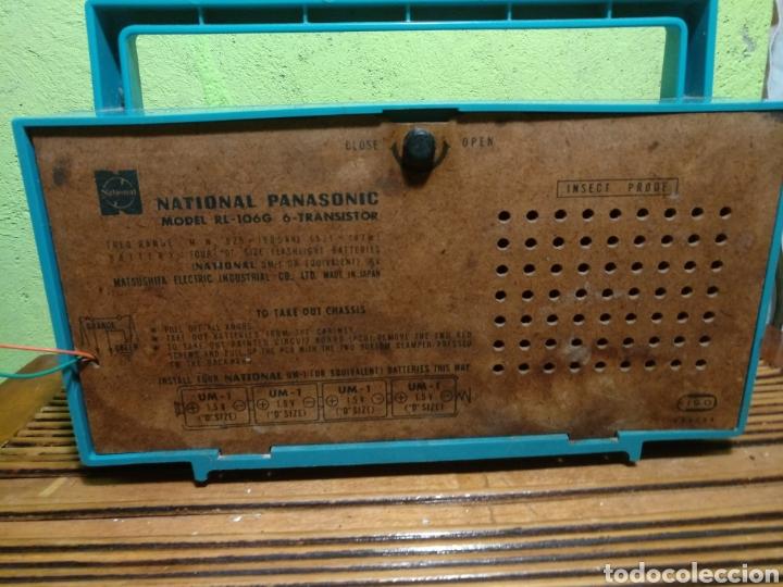 Radios de galena: Radio panasonik años 70 foncciona - Foto 5 - 184539602