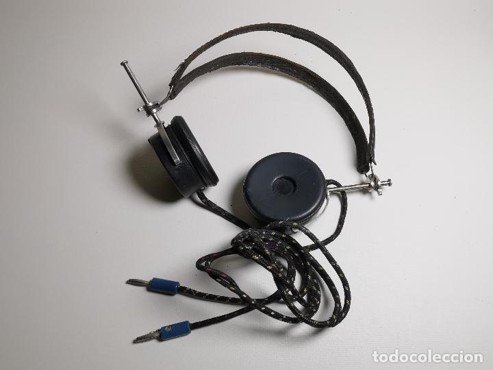 Radios de galena: AURICULARES para RADIO DE GALENA. MARCA ORIGINAL 1000 OHM- - Foto 2 - 191004902