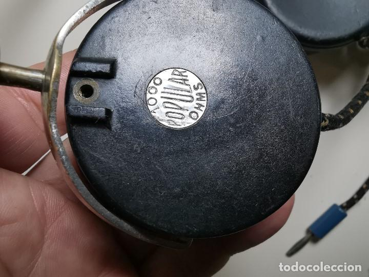 Radios de galena: AURICULARES para RADIO DE GALENA. MARCA ORIGINAL 1000 OHM- - Foto 7 - 191004902