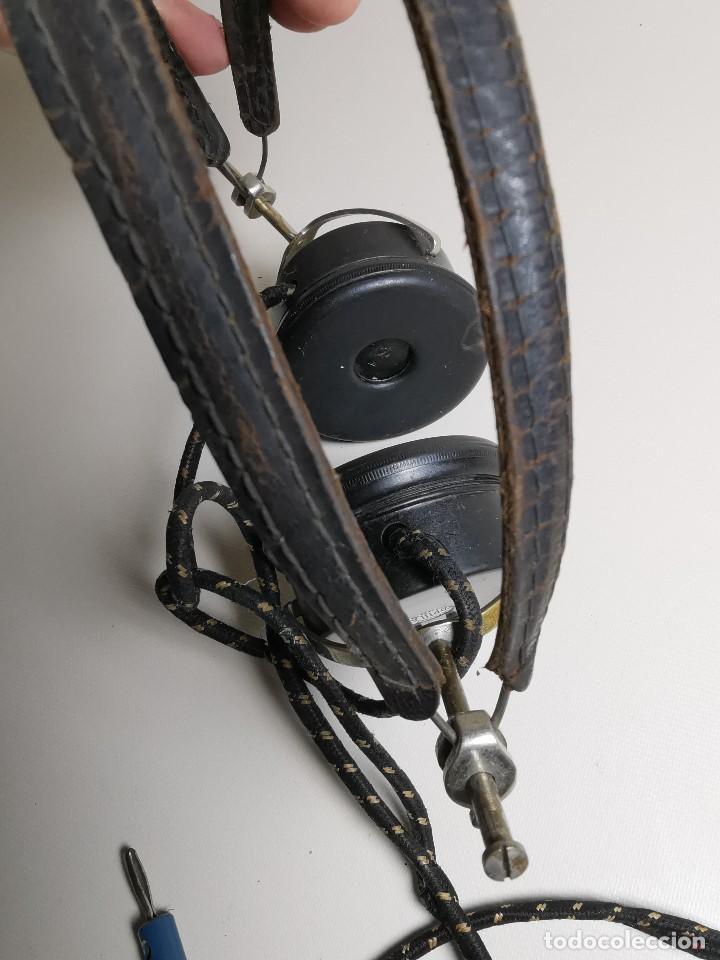 Radios de galena: AURICULARES para RADIO DE GALENA. MARCA ORIGINAL 1000 OHM- - Foto 13 - 191004902