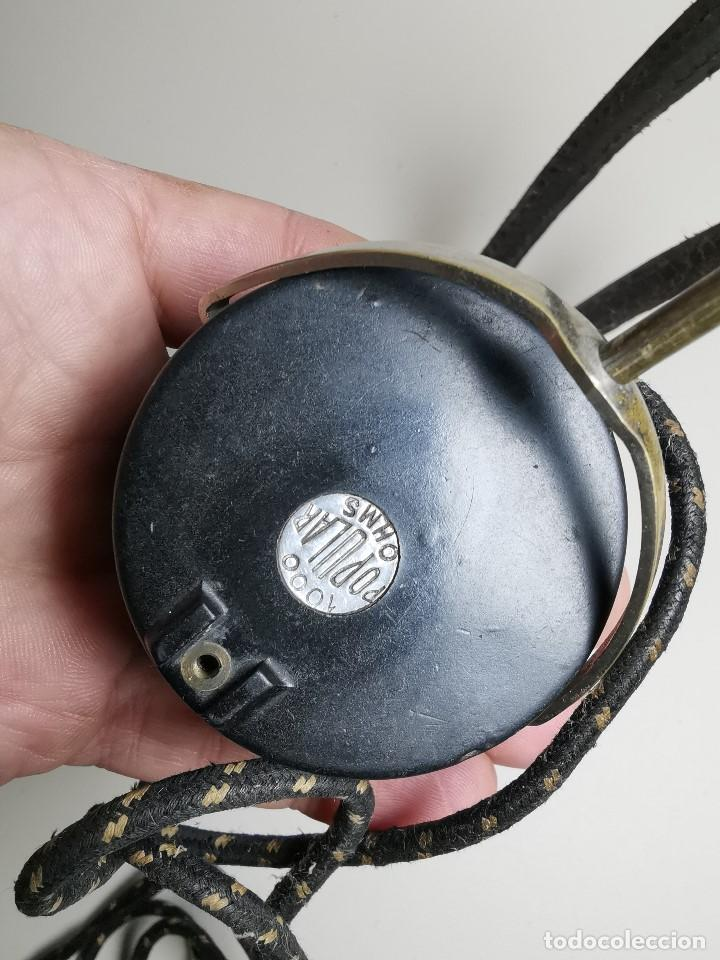 Radios de galena: AURICULARES para RADIO DE GALENA. MARCA ORIGINAL 1000 OHM- - Foto 17 - 191004902