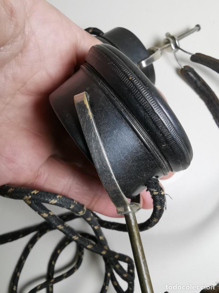 Radios de galena: AURICULARES para RADIO DE GALENA. MARCA ORIGINAL 1000 OHM- - Foto 18 - 191004902